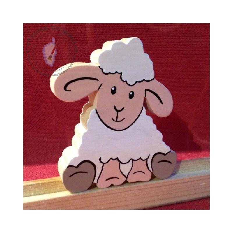Petits personnages à ajouter au prénom Mouton profil
