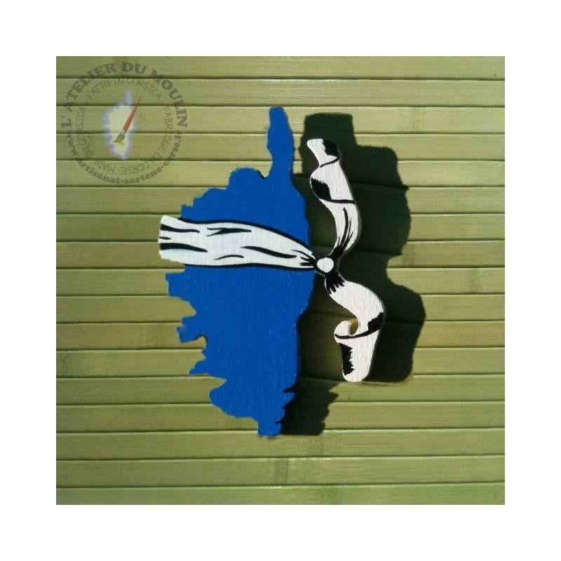 Magnet Corsica Bleu
