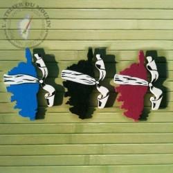 Magnet Corsica bleu noir bordeau