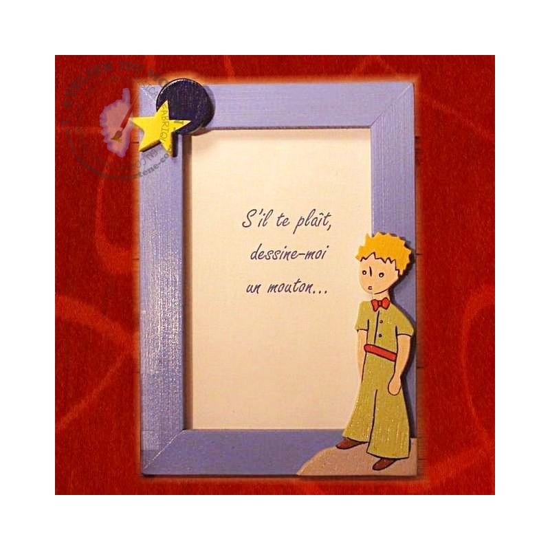Cadre le Petit Prince pour glisser une tendre photo