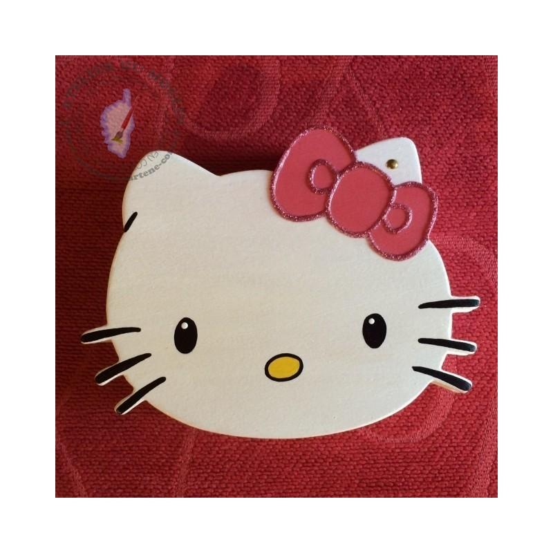 Boîte en bois Hello Kitty