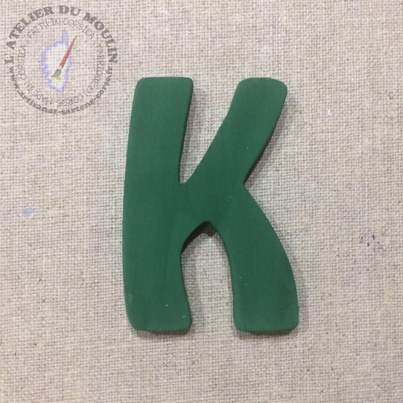 Lettre Vert Sapin