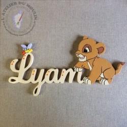 La couleur utilisée pour Lyam est ivoire