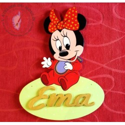 Plaque de porte Minnie Ema
